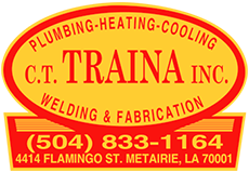 CT Traina is Metairie and New Orleans' Plumbing, sewer and drain Cleaning, piping, air conditioning, heating, welding, fabrication, sheet metal, mechanical contractors, repairs, general contractors